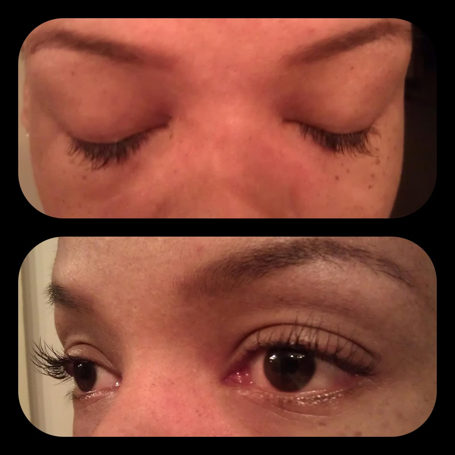 Swimming With Eyelash Extensions